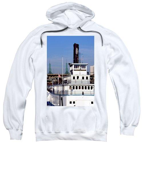 Sternwheeler, Portland Or  Sweatshirt