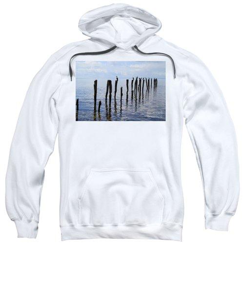 Sticks Out To Sea Sweatshirt