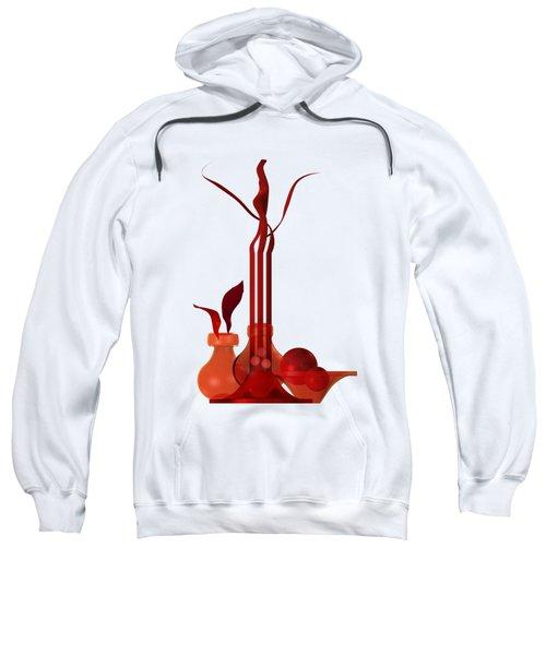 Still Life In Red Sweatshirt