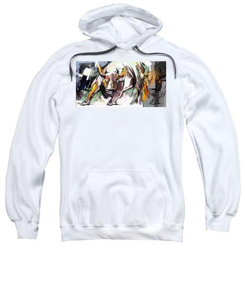 Stock Market Bull Sweatshirt