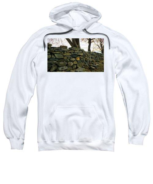 Stone Wall, Colt State Park Sweatshirt