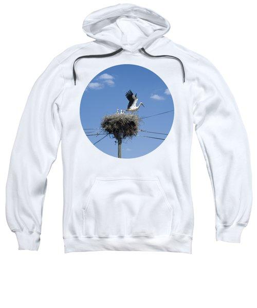 Storks Nest Alentejo Sweatshirt by Mikehoward Photography