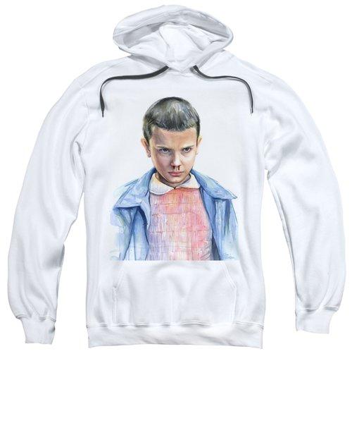Stranger Things Eleven Portrait Sweatshirt