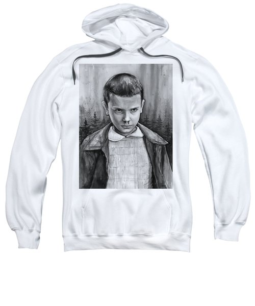 Stranger Things Fan Art Eleven Sweatshirt