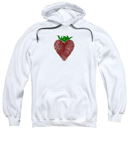 Strawberries Sweatshirt by Kathleen Sartoris