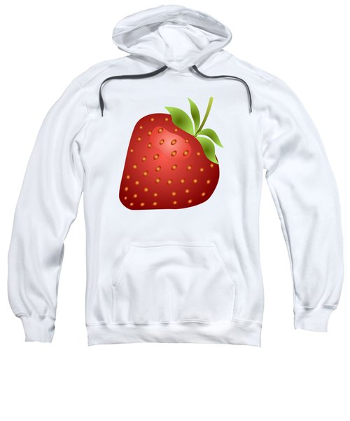 Strawberry Fruit Sweatshirt by Miroslav Nemecek