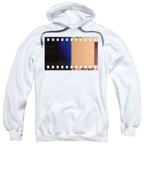Strip Of The Poorly Exposed And Developed Celluloid Film Sweatshirt