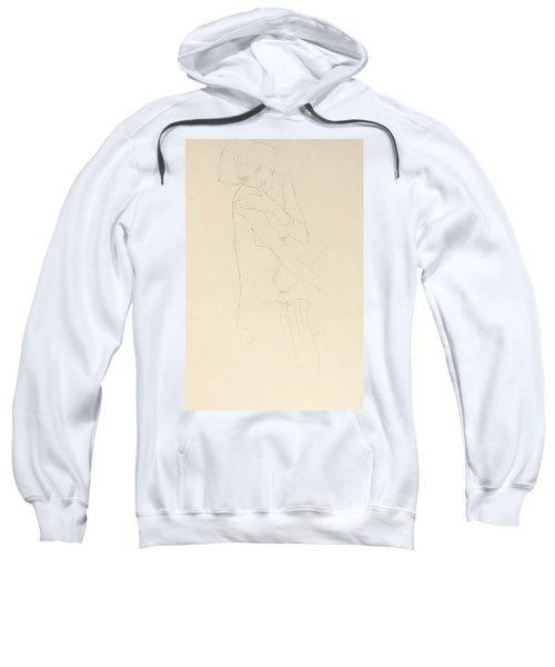 Study For Adele Bloch Bauer II Sweatshirt by Gustav Klimt