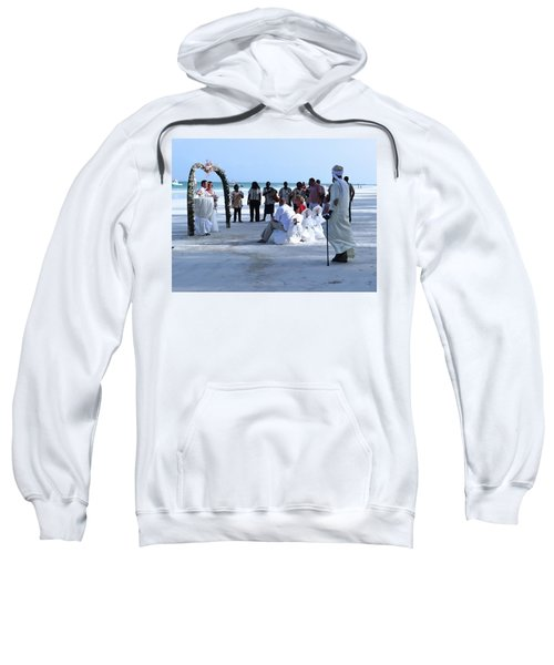Stunning Kenya Beach Wedding Sweatshirt