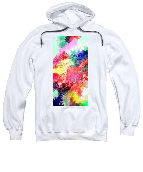 Subtle Vibrations, Canvas Four Of Five Sweatshirt