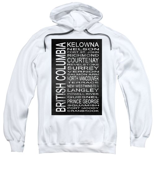 Subway British Columbia Canada 2 Sweatshirt