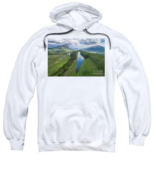 Summer At Long Lake  Sweatshirt