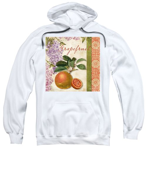 Summer Citrus Grapefruit Sweatshirt by Mindy Sommers