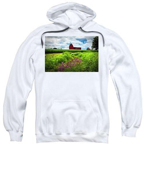 Summer Flowers In The Fields Sweatshirt