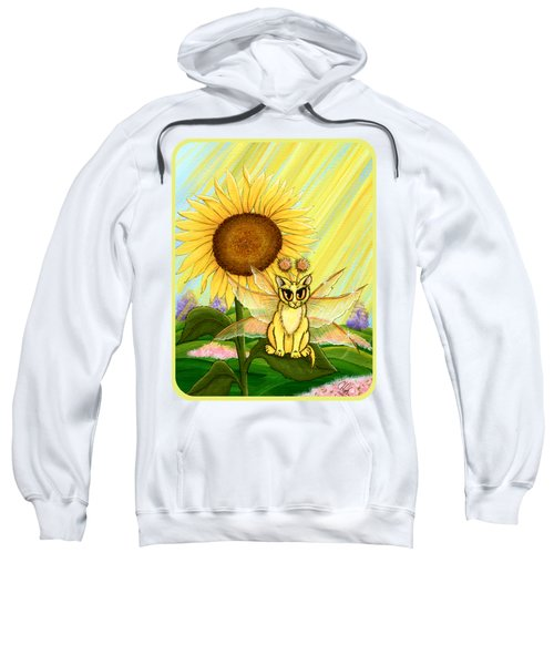 Summer Sunshine Fairy Cat Sweatshirt