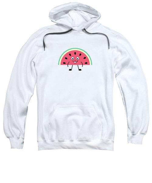 Summer Watermelons Sweatshirt by Alina Krysko