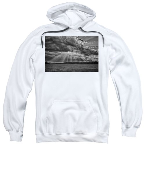 Sun Rays Over Vann's Valley Sweatshirt