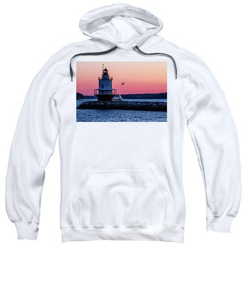 Sun Rise At Spring Point Sweatshirt