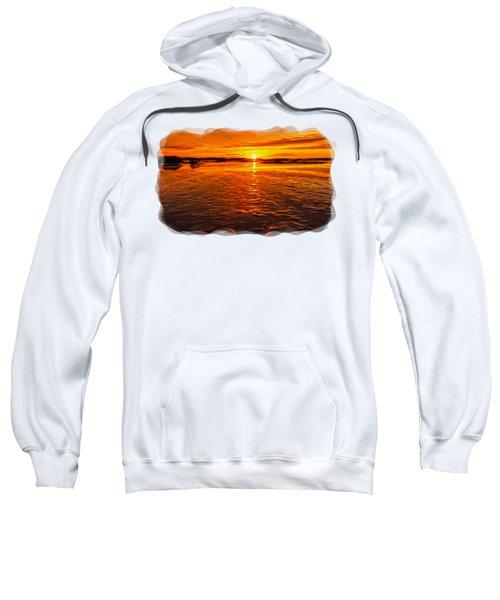 Sundown At Low Tide 2 Sweatshirt