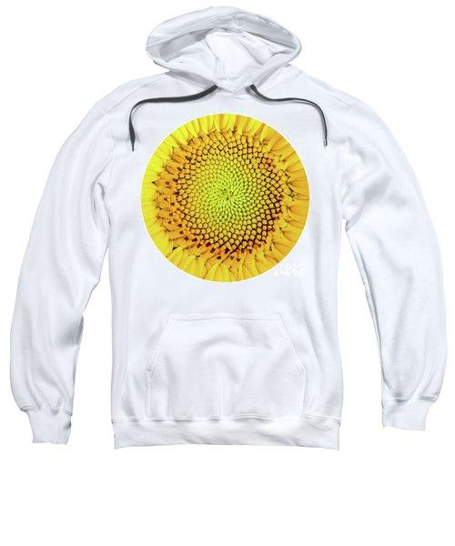 Sunflower Large Round Beach Towel Design Sweatshirt