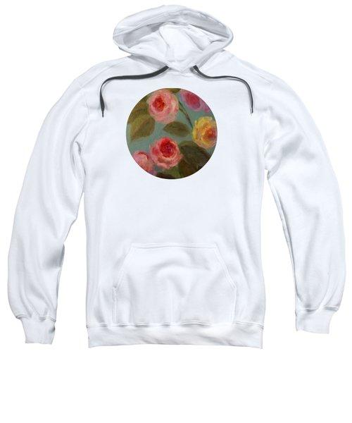Sunlit Roses Sweatshirt