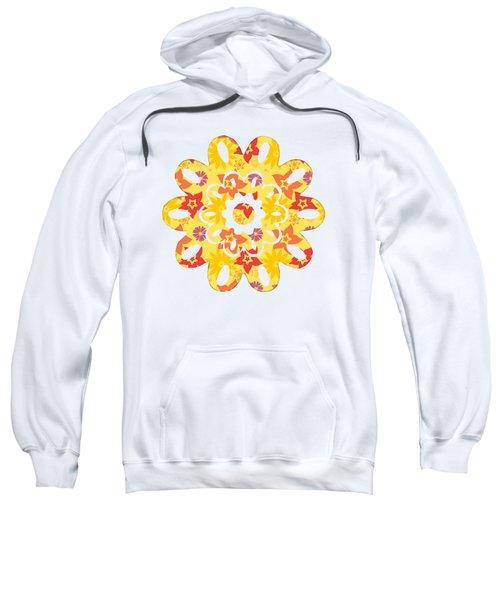 Sunny Flowers Sweatshirt