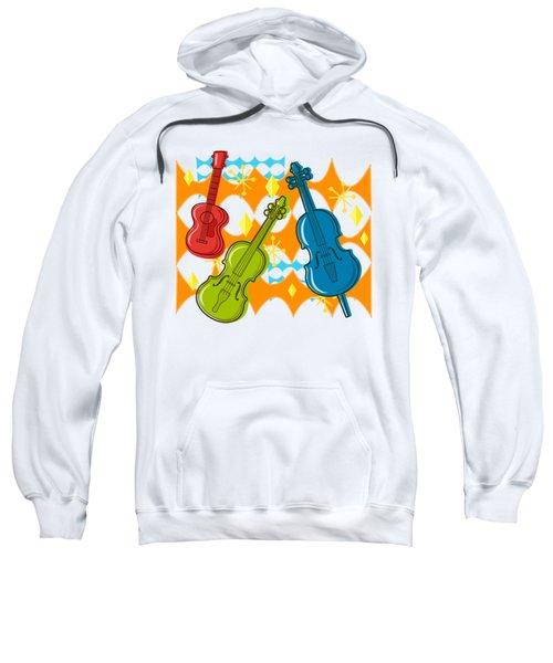 Sunny Grappelli String Jazz Trio Composition Sweatshirt