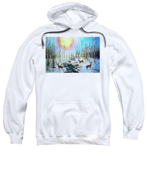 Sunny Winter Sweatshirt