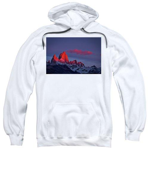Sunrise At Fitz Roy #3 - Patagonia Sweatshirt