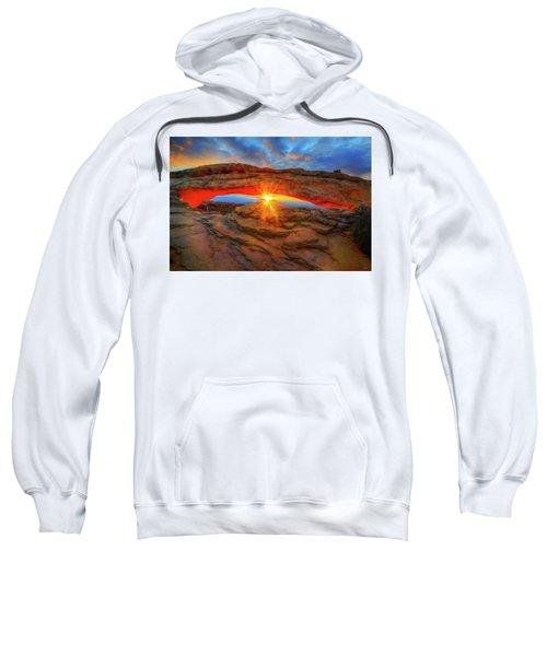 Sunrise At Mesa Arch Sweatshirt