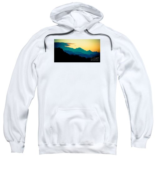 Sunrise In Himalayas Annapurna Yatra Himalayas Mountain Nepal Poon Hill Sweatshirt