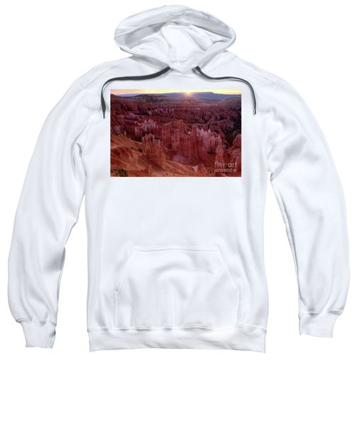 Sunrise Over The Hoodoos Bryce Canyon National Park Sweatshirt