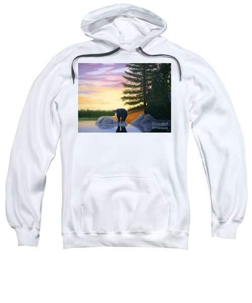 Sunset Bear Sweatshirt