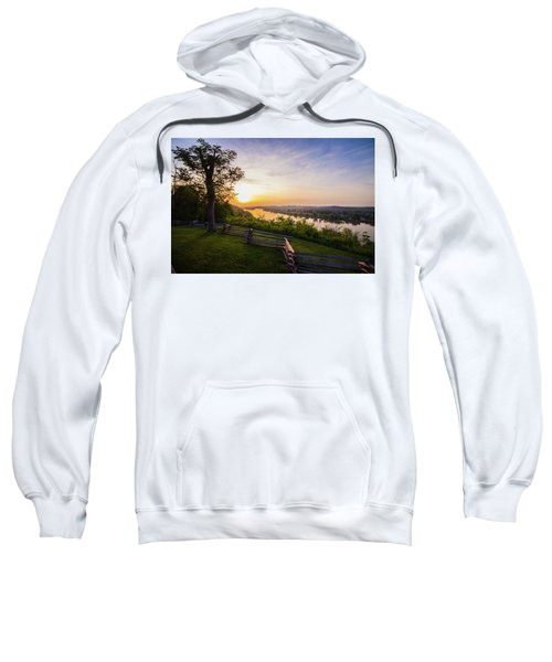 Sunset From Boreman Park Sweatshirt