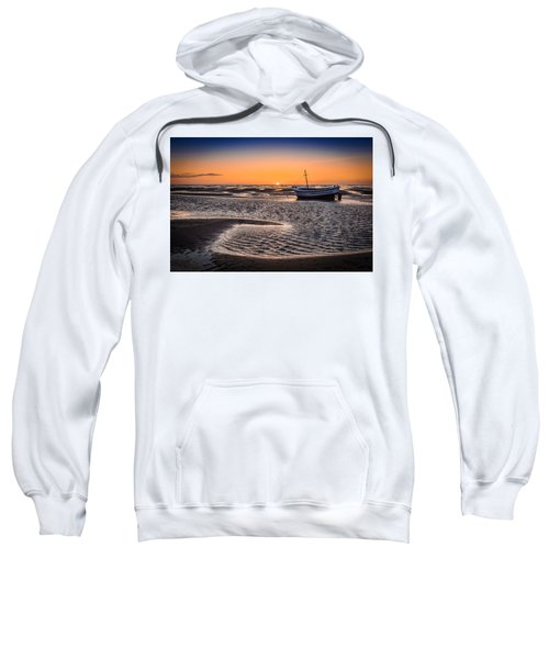 Sunset, Meols Beach Sweatshirt