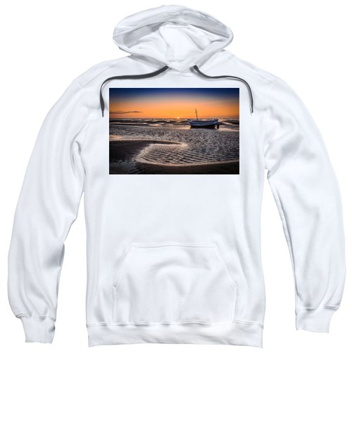 Sunset, Meols Beach Sweatshirt