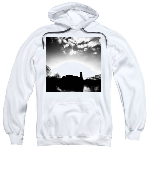 Sunset Over The Royal Shakespeare Company. Sweatshirt