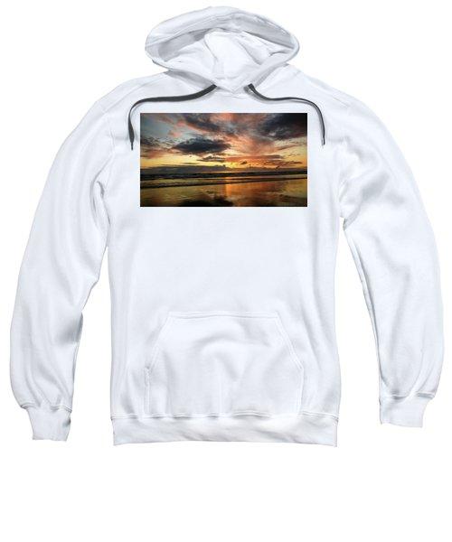 Sunset Split Sweatshirt