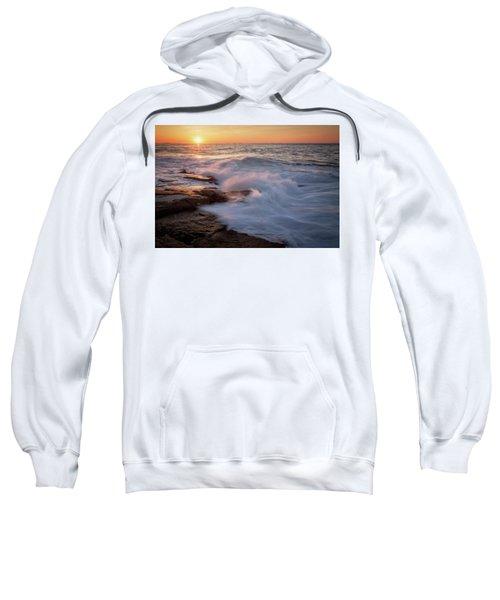 Sunset Waves Rockport Ma. Sweatshirt