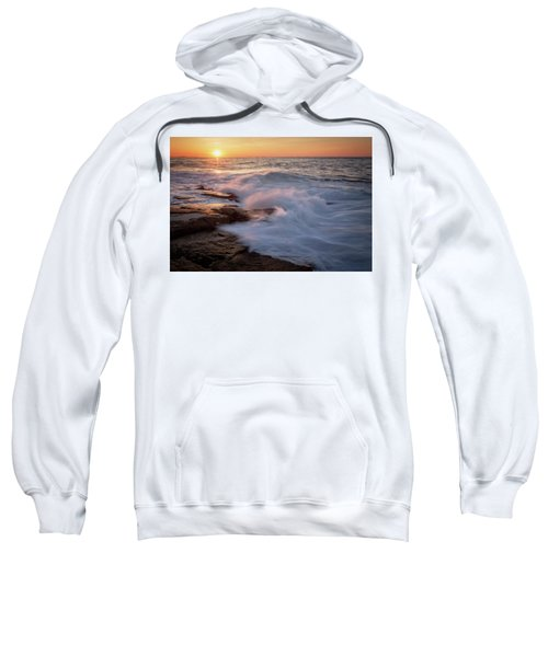 Sunset Waves Rockport Ma. Sweatshirt