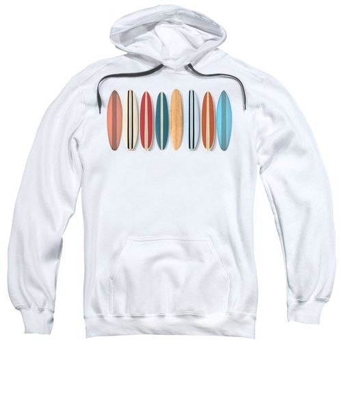 Surf Boards Row Sweatshirt