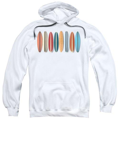 Surf Boards Row Sweatshirt