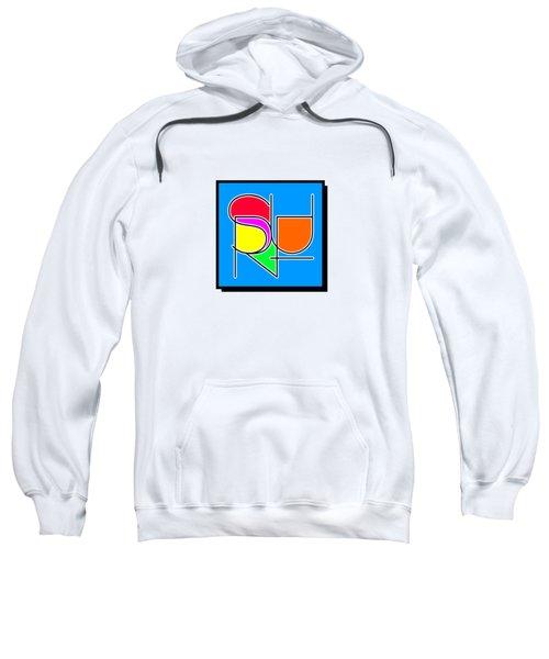 Surf In Abstract Sweatshirt