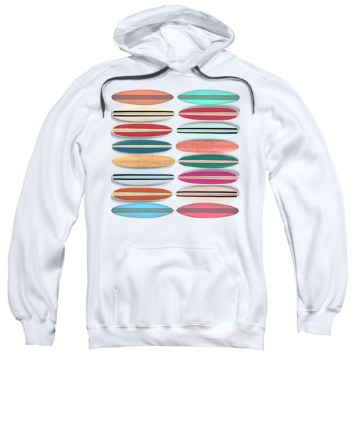 Surfboard Pattern Square Sweatshirt
