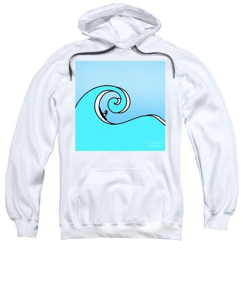 Surfing The Wave Sweatshirt