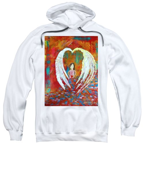 Surrounded By Love Sweatshirt