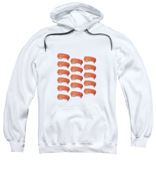 Sushi T-shirt Sweatshirt by Edward Fielding