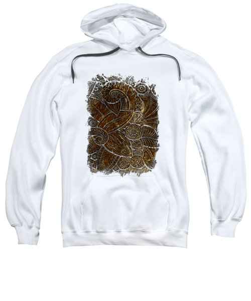 Swan Dance Earthy 3 Dimensional Sweatshirt