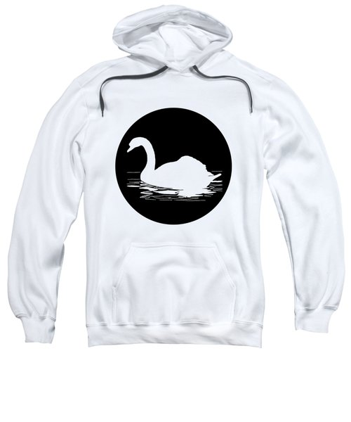 Swan Sweatshirt by Mordax Furittus