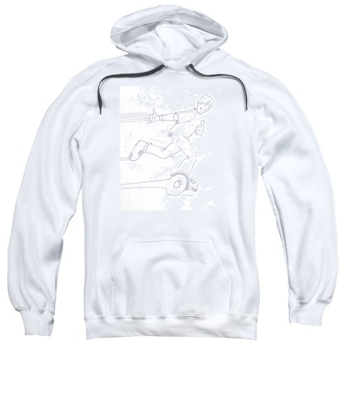 Swegway Hoverboard Fun Cartoon Sweatshirt